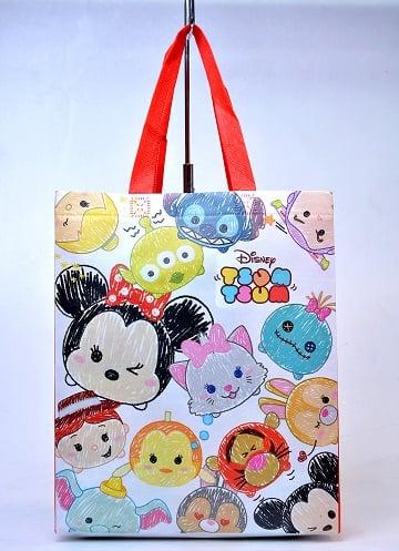Original Disney Tsum Tsum Non Woven Bag - Red