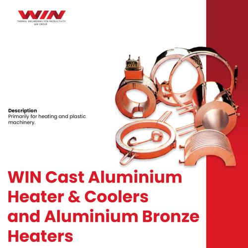 Cast Aluminium Heater & Coolers and Aluminium Bronze Heaters