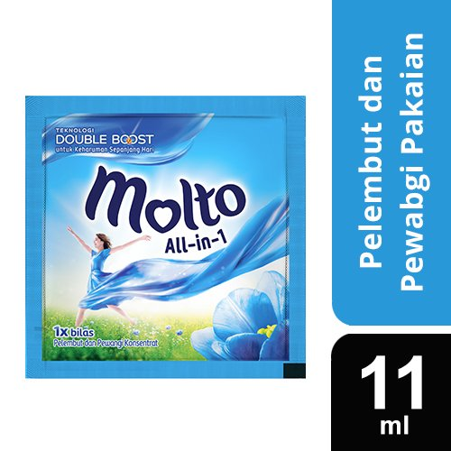 Molto All in 1 Blue Sachet 360x11ml