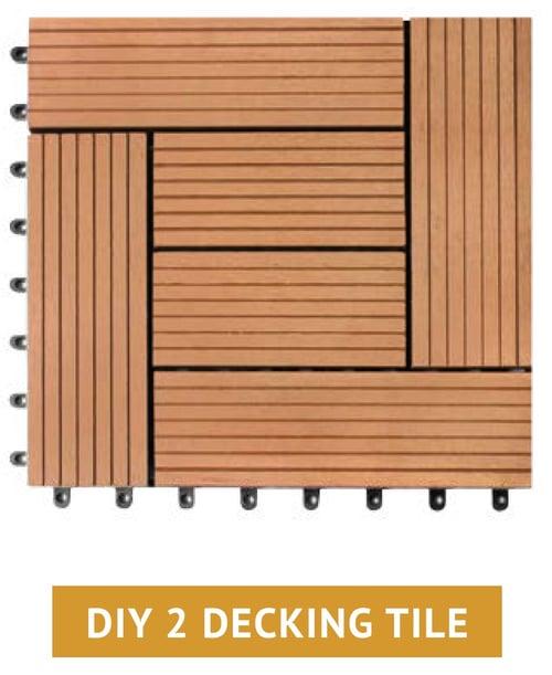 Decking WPC Kayu Asri tipe DIY 2 - Lantai kayu modern buat outdoor