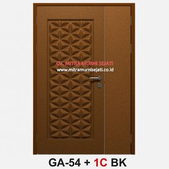 Harga Pintu Besi Steel Door GA-54 BK C