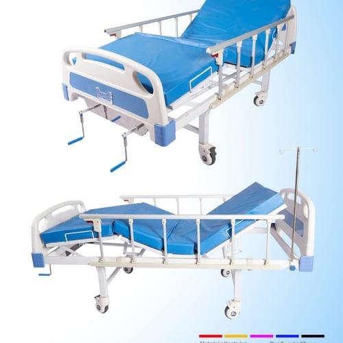 Tempat Tidur Pasien 2 Engkol ABS
