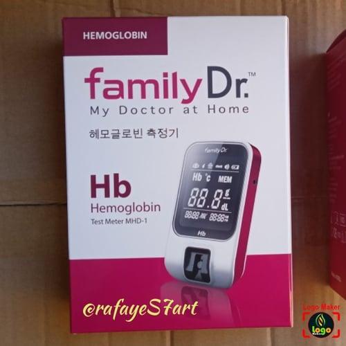 Alat cek up Test HB Hemaglobin Family Dr Test meter MHD