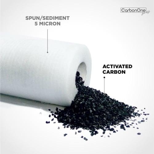 Catridge Filter air Spun Coconut / Zerro Spun Coconut 10