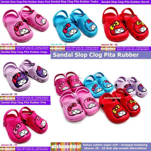Sandal Anak Classic Clog Pita