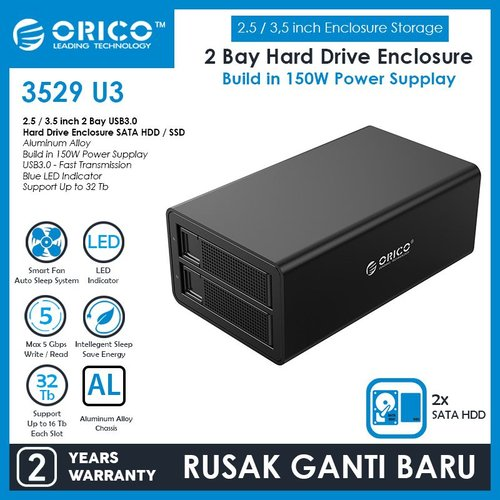ORICO 3529U3 External Hard Drive Enclosure