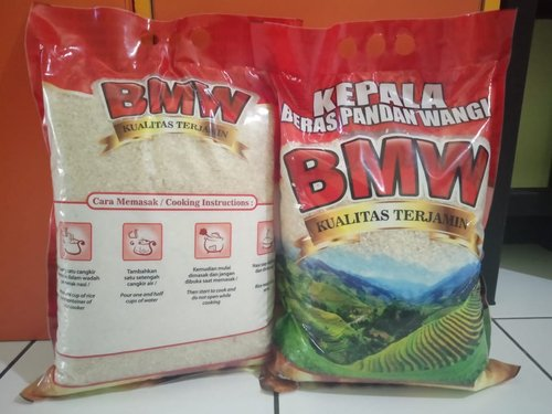beras kemasan 5kg bmw