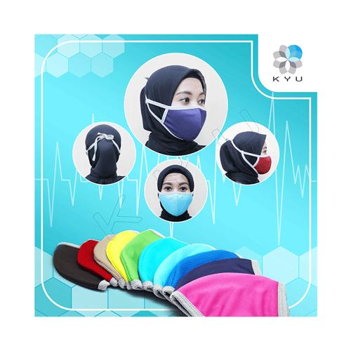 Masker Kyu Color Pack 7 Pcs - Sporty - 3 Ply