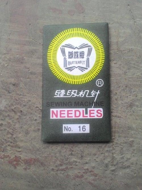 Jarum Mesin Jahit Merk BUTTERFLY (Portable & Multifungsi) - 16