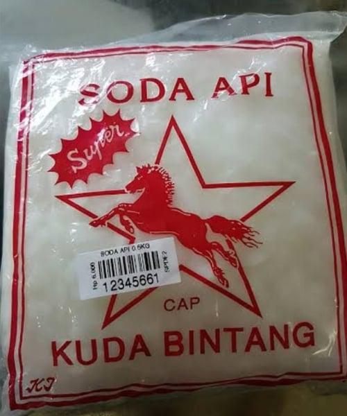 Soda Api Cap Kuda Bintang 500g