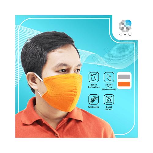 Masker Kyu Color Pack 6 Pcs - Casual - 2 Ply