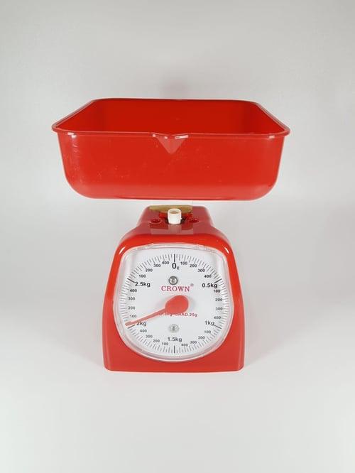 Timbangan Kue Manual Dapur Tepung Terigu Plastik Serbaguna 3kg