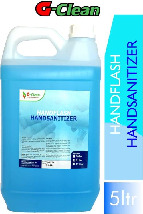 G CLEAN HAND SANITIZER HANDFLASH