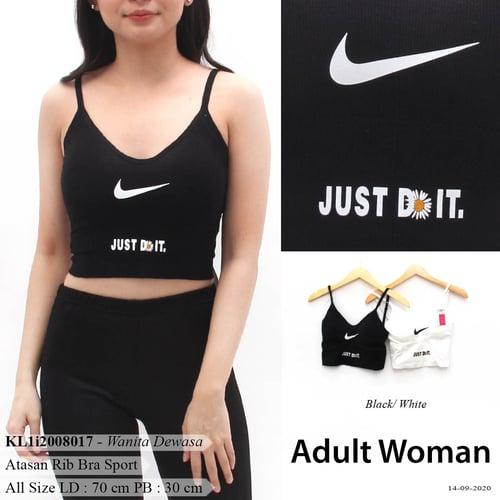 DeMode Adult woman codeKL1i2008017 Bra sport dalaman rajut pint nike