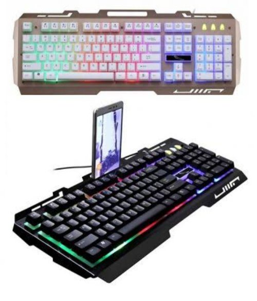 Keyboard Gaming Lampu Led Backlight Besi