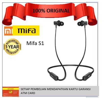 Xiaomi Mifa S1 Wireless Headphone Sports Bluetooth Earphone Headset Original