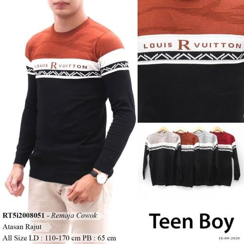 DeMode Teen Boy codeRT5i2008051 Atasana rajut kombinasi import