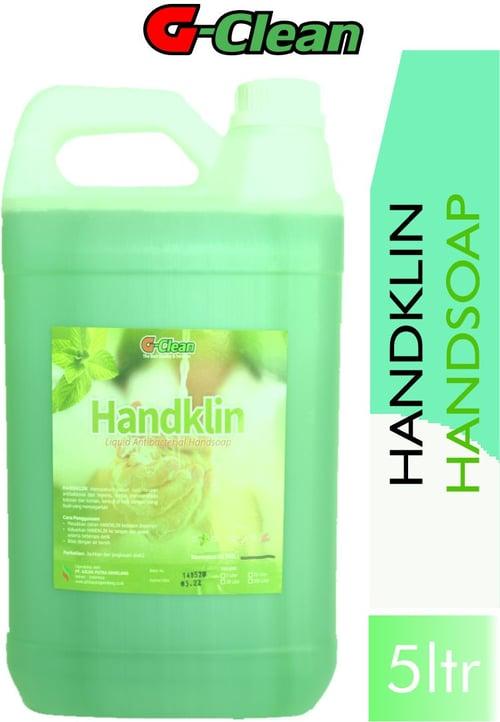 G CLEAN HANDSOAP/ HANDKLIN