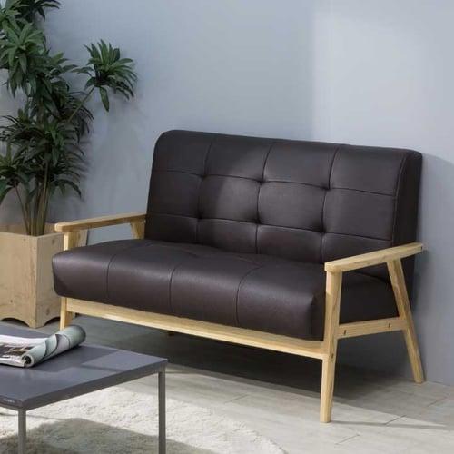 Ebonia - Sofa Top Oak 2 Dudukan - Cokelat