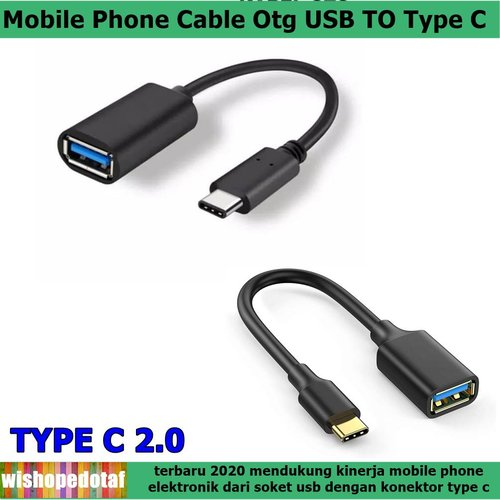 Cable Otg Type C Conector For Smart Phone