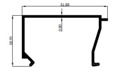GLASS BEAD 3 inch 0,80mm - MF