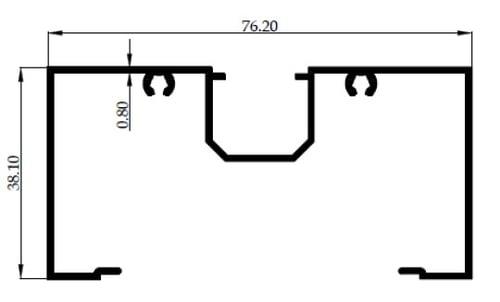 M SKRUP 3 inch 0,80mm - MF