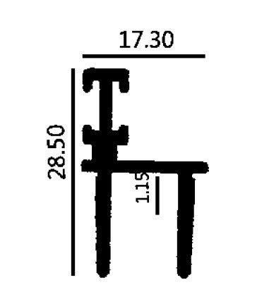 TUTUP GOT M 3 inch KARET 1.15mm - MF
