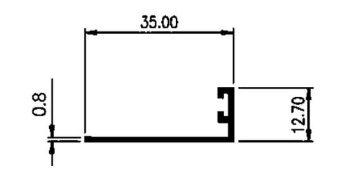 STOPPER 3,5 CM 0,80mm - MF