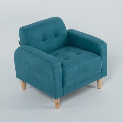 Ebonia - Sofa MDRN 1 Dudukan - Fabric - aqua blue