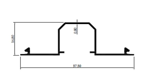 TUTUP M 3 inch 0,80mm - PC- Artic White, Brown, Black Matte