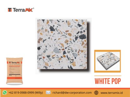 Terramix Teraso Lantai White Pop
