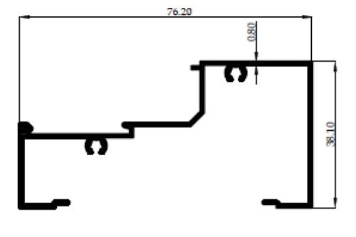 Z/L SKRUP 3 inch 0,80mm - CA