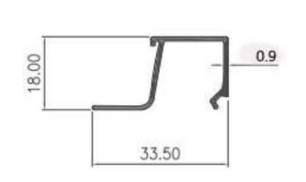 GLASS BEAD CASEMENT 0.90mm - CA