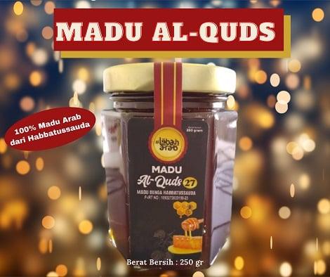 Madu Al Quds (Madu Super) 250 gr