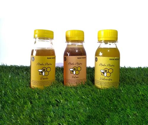 Paket Madu 3 in 1 (Madu Hutan, Madu Randu, Madu Kaliandra) Berat Bersih 100gr per botol