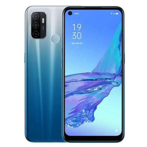 Oppo A53 2020 Smartphone Ram  6GB Rom 128GB  Fancy Blue - Garansi Resmi