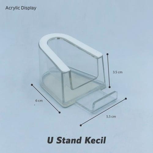 Acrylic DIsplay - U Stand Kecil