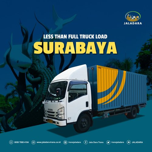 Jasa Pengiriman Surabaya-Surakarta (LTL)