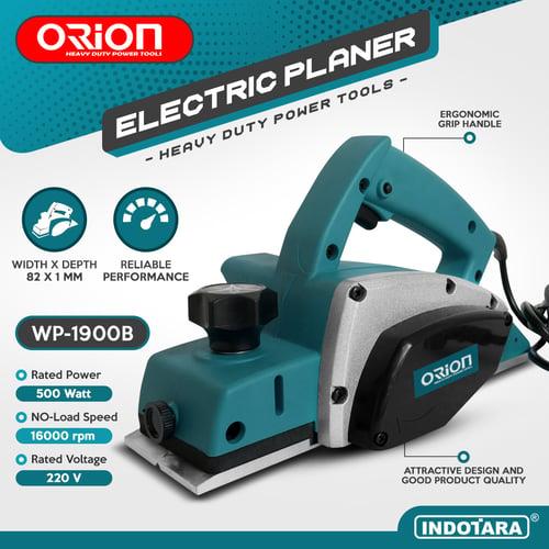 Mesin Serut Kayu Elektrik / Electric Wood Planer Machine Orion WP-1900B