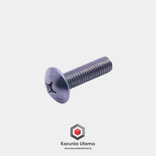 SUS 304 TJP Truss Head Machine Screw M4 x 10 Stainless
