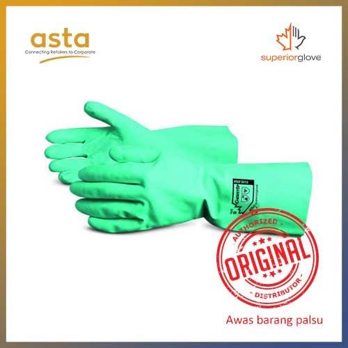 Sarung Tangan Chemstop Nitrile Chemical Resistant Gloves Superior Glove NIF3018