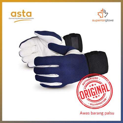 Sarung Tangan Vibrastop Goatskin Leather Palm Full Finger Vibration Dampening Superior Glove VIBGV