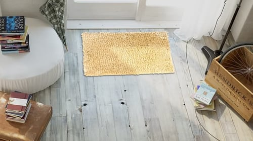 Keset kaki anti slip doormat shaggy Zena 40x60 cm