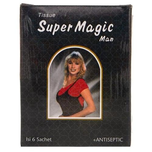 TISSUE SUPER MAGIC MAN 1 BOX ISI 6 SACHET