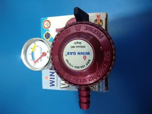 Regulator winn gas W18M 300mm 2kg/h
