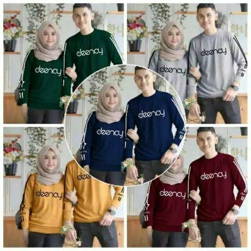 SWEATER COUPLE BAJU PASANGAN