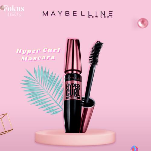 Maybelline Volum Express Hypercurl Waterproof Mascara Make Up - Black