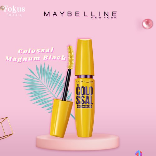 Maybelline Colossal Magnum Waterproof Mascara MakeUp