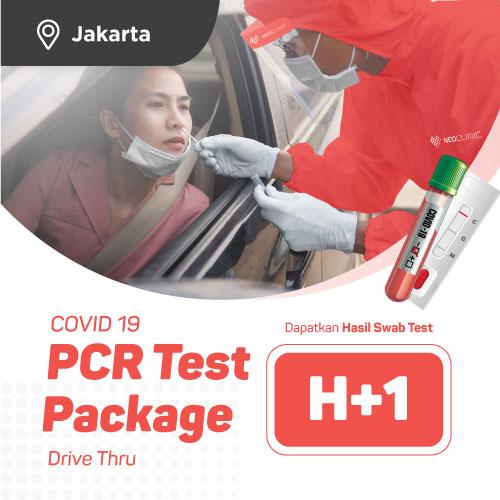 JAKARTA - PCR Swab Test H+2 Drive Thru