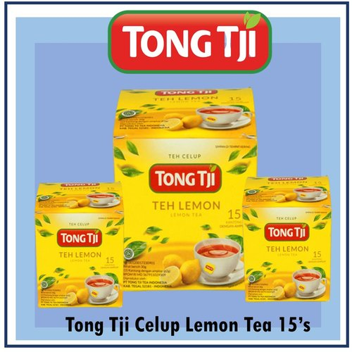 Tong Tji Celup Lemon Tea 15 bag